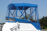 Blue Bimini Enclosure