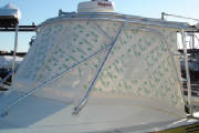 POLYWINDOW Marine Enclosure with Paper
